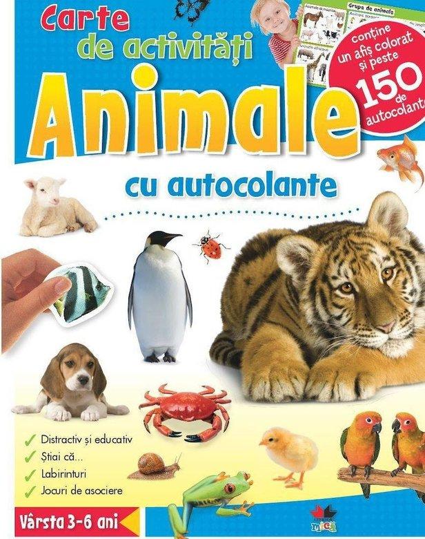 Animale. Carte De Activitati Cu Autocolante |