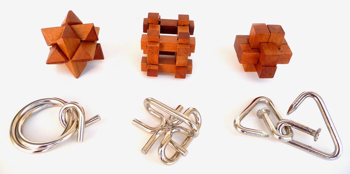 Puzzle - Set 6 in 1 - Leonardo | Logica Giochi - 3
