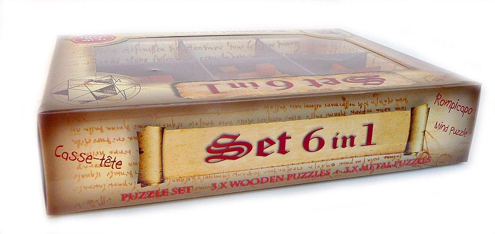 Puzzle - Set 6 in 1 - Leonardo | Logica Giochi - 1