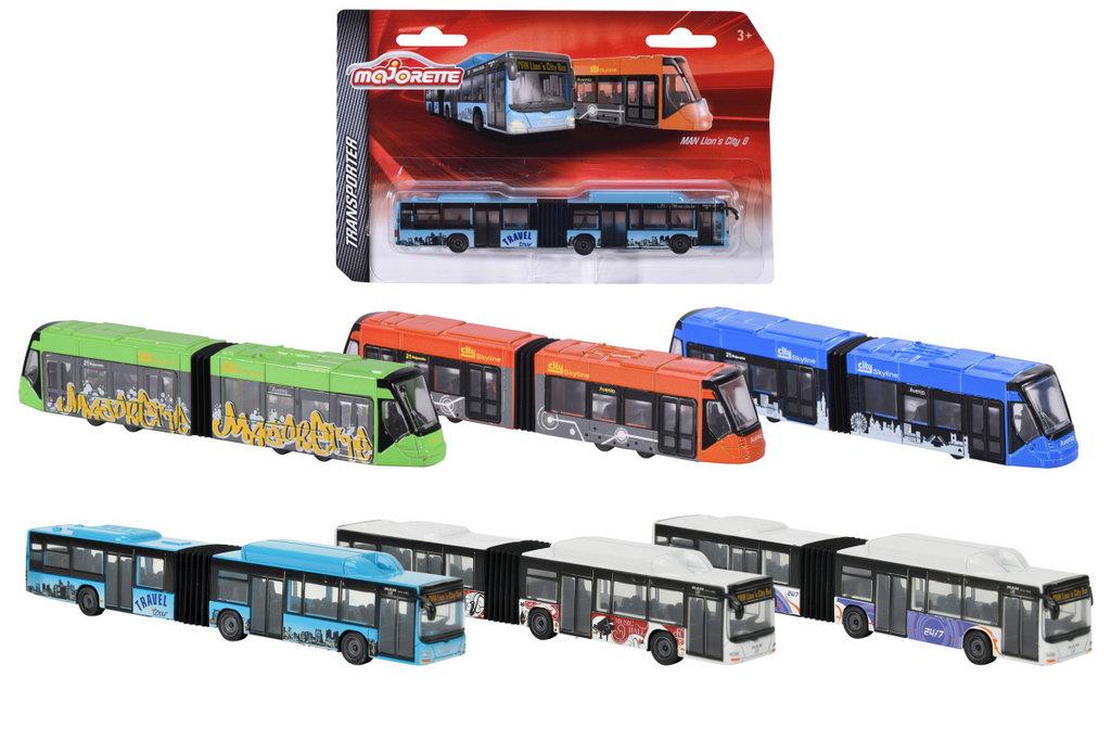 Mijloace de transport - Majorette Man Autobus Tramvai -diverse modele | Majorette