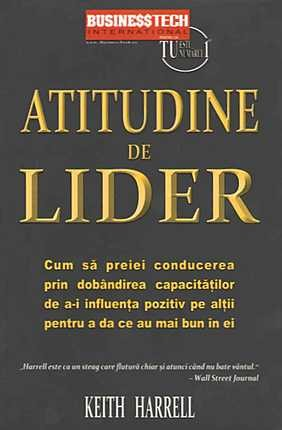 Imagine Atitudine De Lider | Keith Harrell