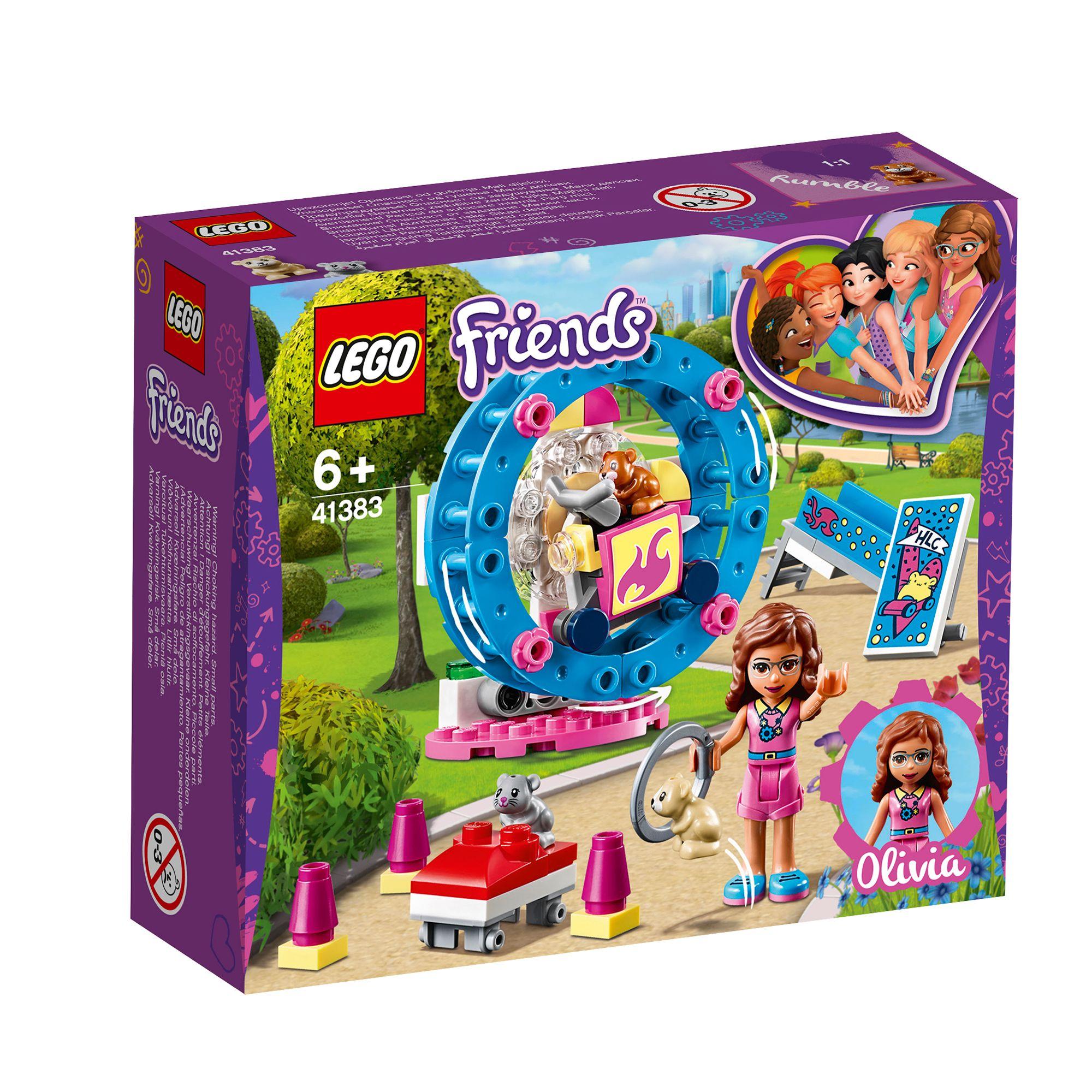 Jucarie - Lego Friends: Terenul de joaca al hamsterului Oliviei thumbnail