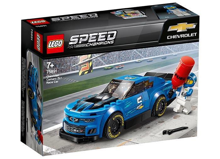 Masina de curse Chevrolet Camaro ZL1 (75891) | LEGO - 4