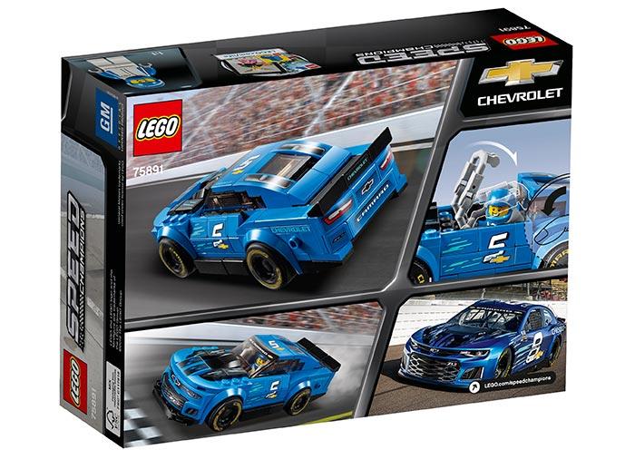 Masina de curse Chevrolet Camaro ZL1 (75891) | LEGO - 3