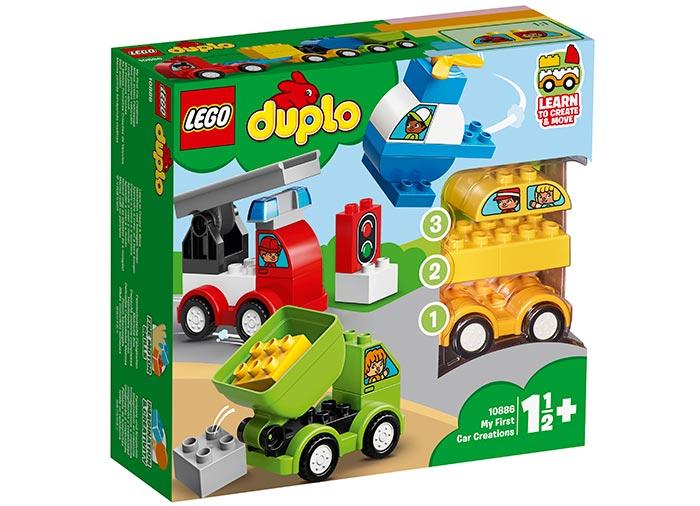Primele mele Masini Creative (10886) | LEGO
