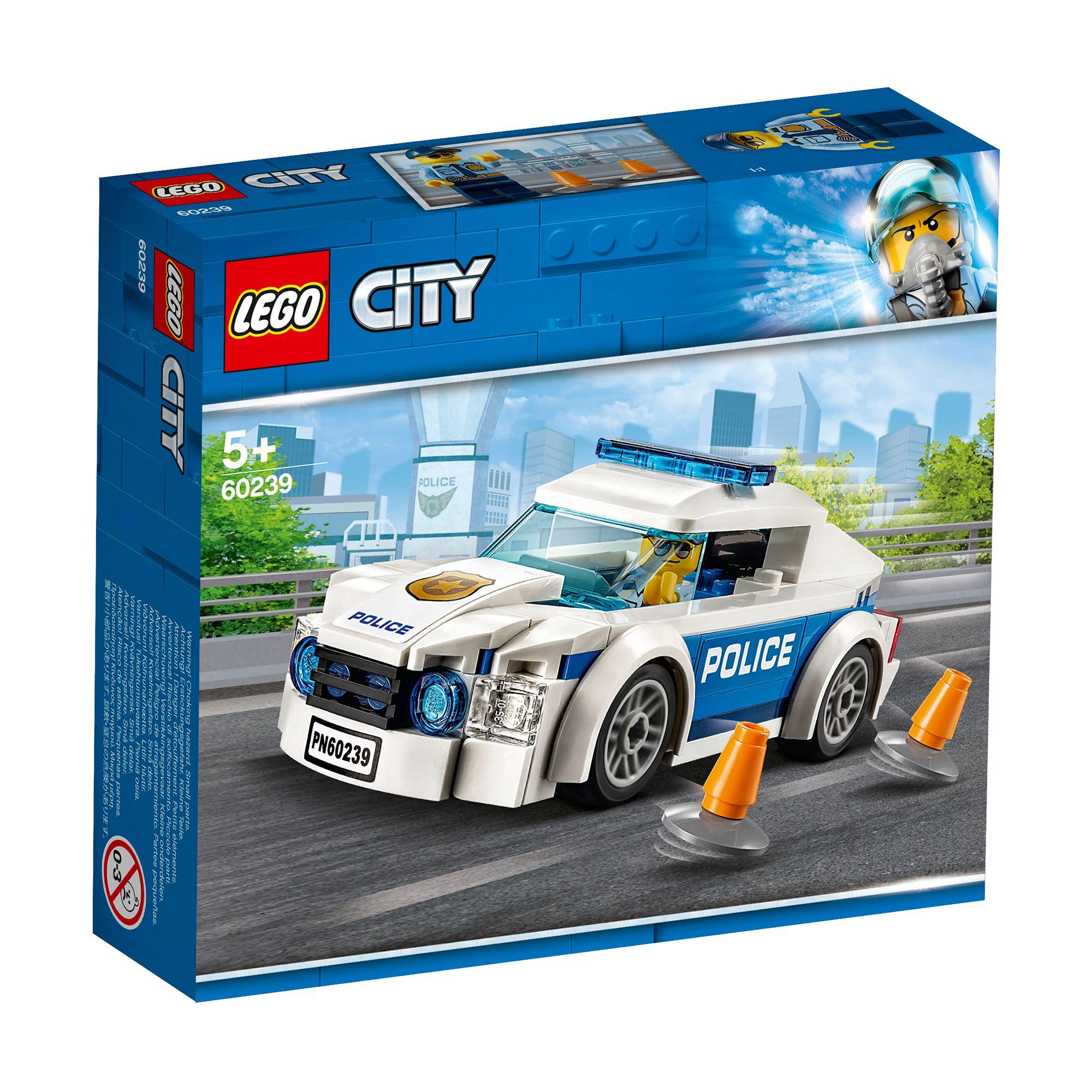 Jucarie - LEGO City Police: Masina de politie pentru patrulare | LEGO