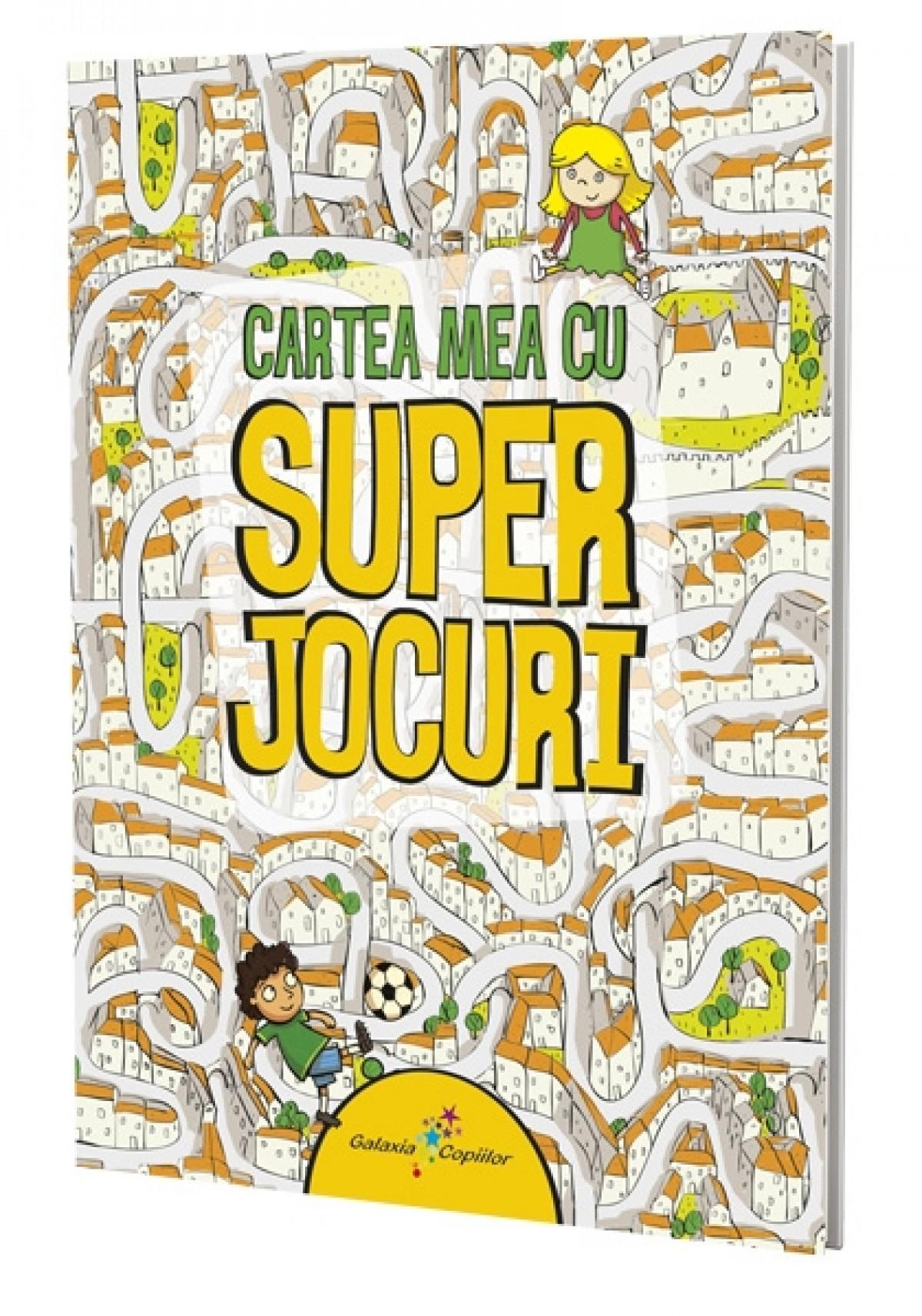 Imagine Cartea Mea Cu Superjocuri -