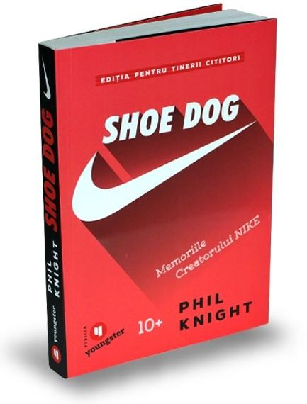 Imagine  Shoe Dog Pentru Tinerii Cititori - Phil Knight