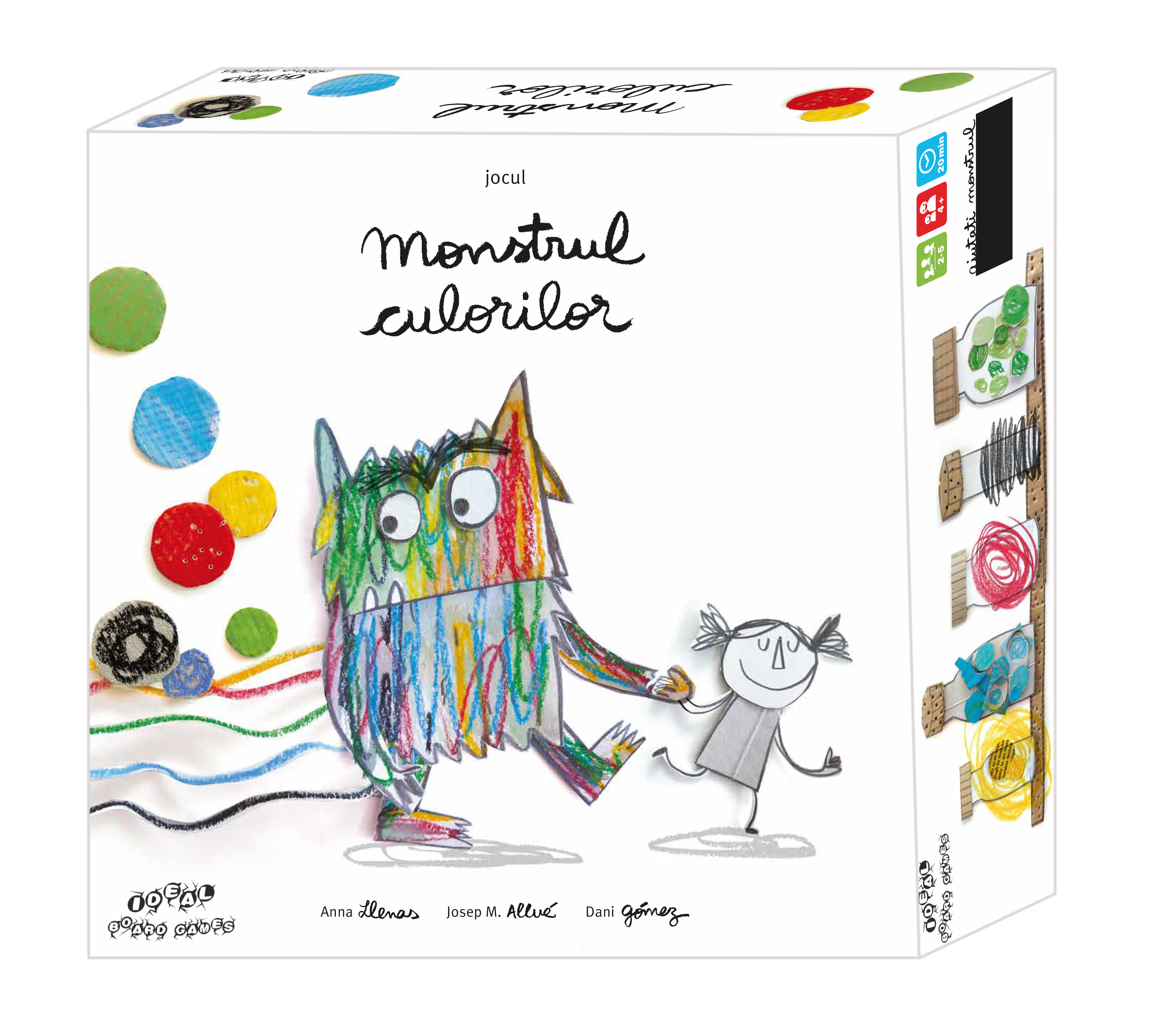 Monstrul culorilor | Ideal Board Games