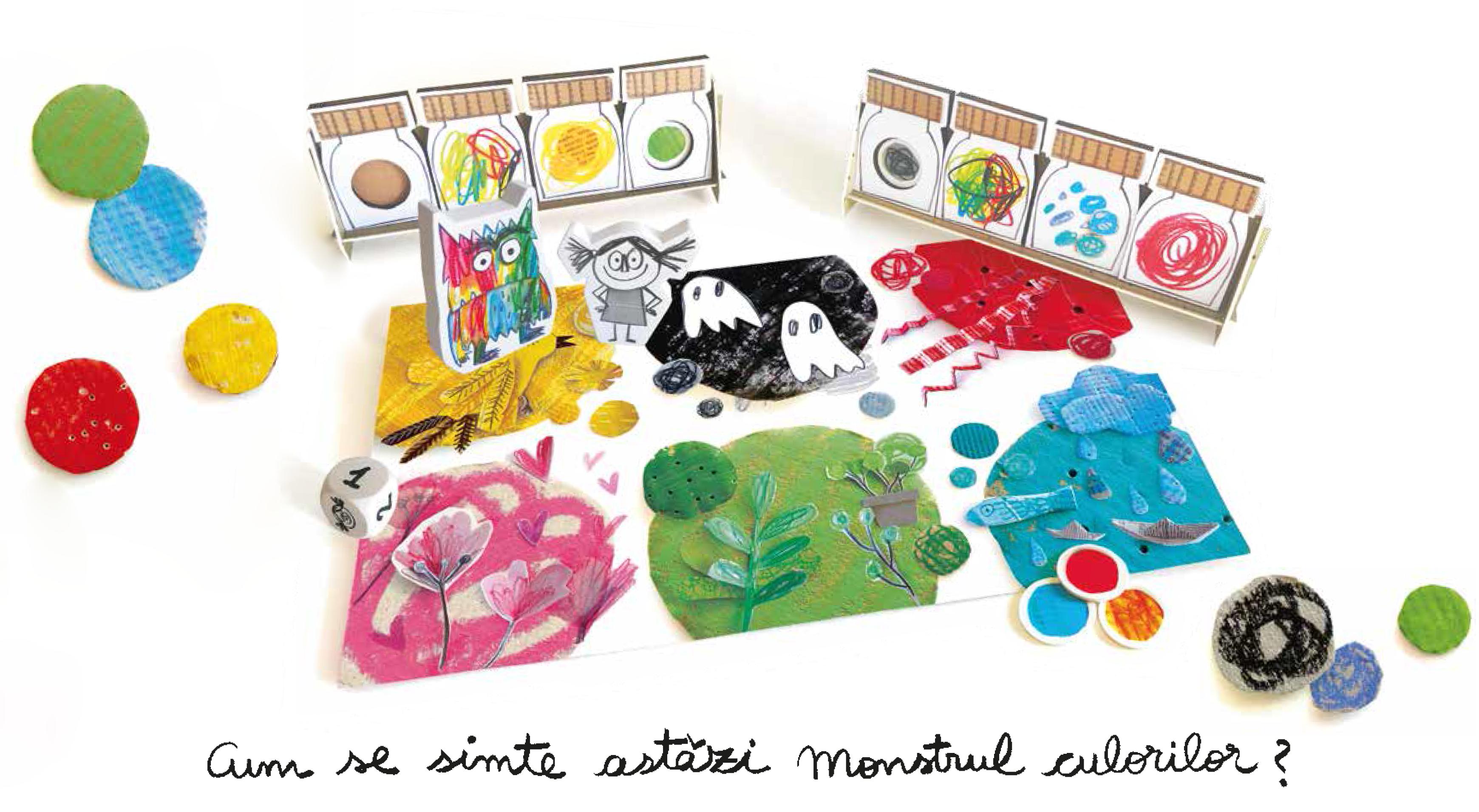 Monstrul culorilor | Ideal Board Games - 1