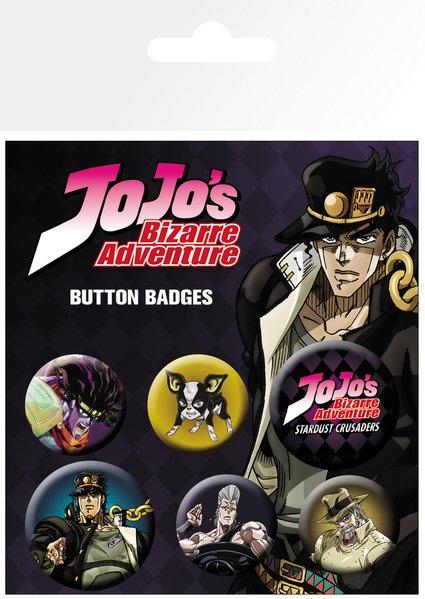 Set insigne - JoJo's Bizarre Adventure thumbnail