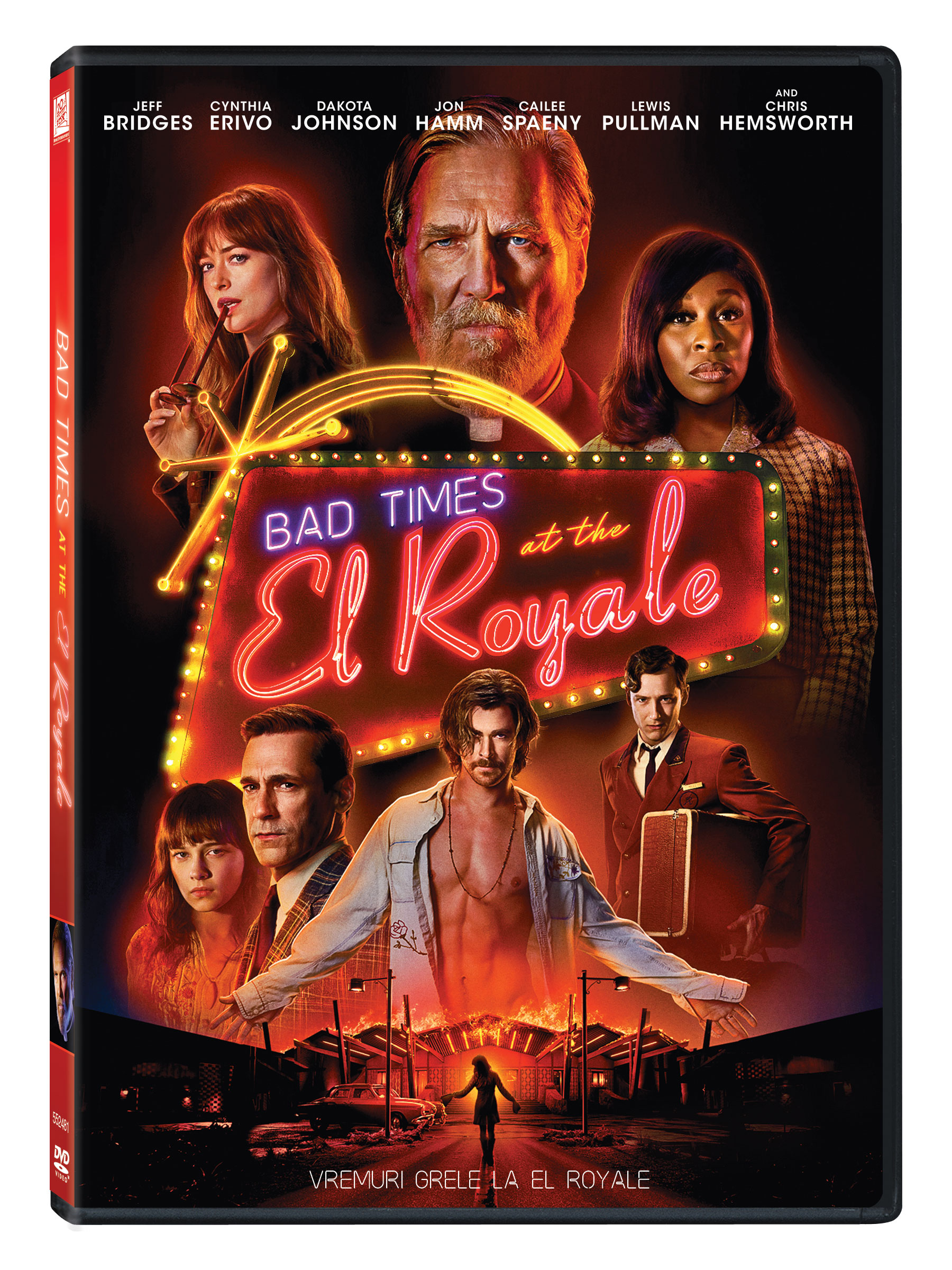 Vremuri grele la El Royale / Bad times at the El Royale thumbnail
