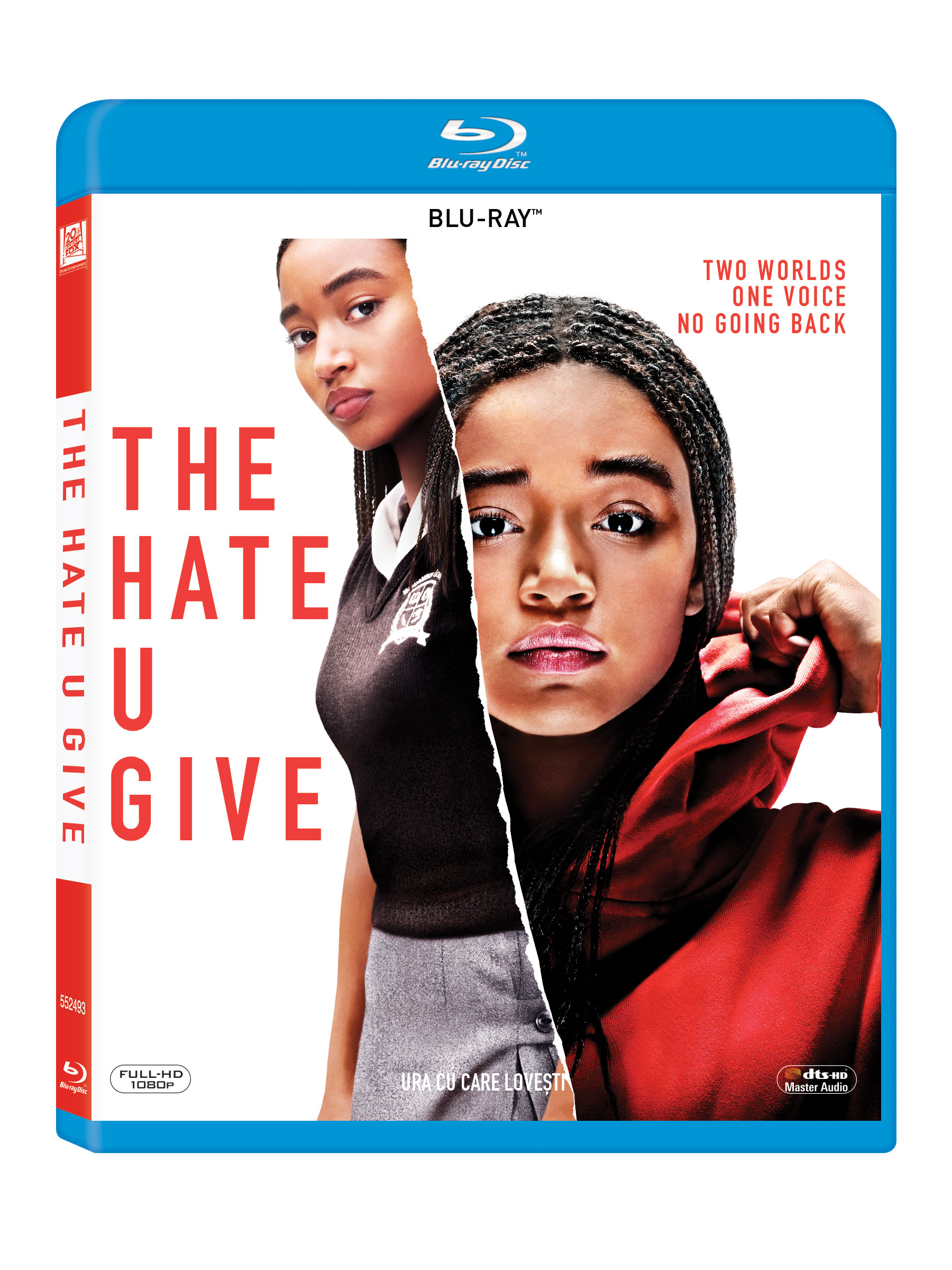 Ura cu care lovesti / The hate you give (Blu-Ray Disc) thumbnail