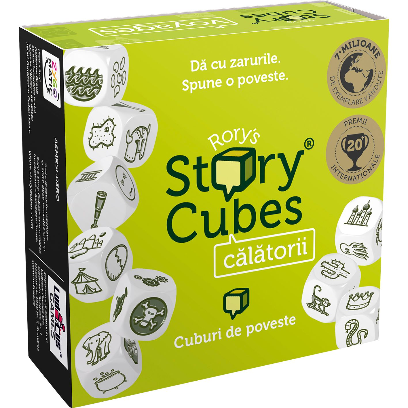 Rory's Story Cubes - Calatorii | Rory's Story Cubes