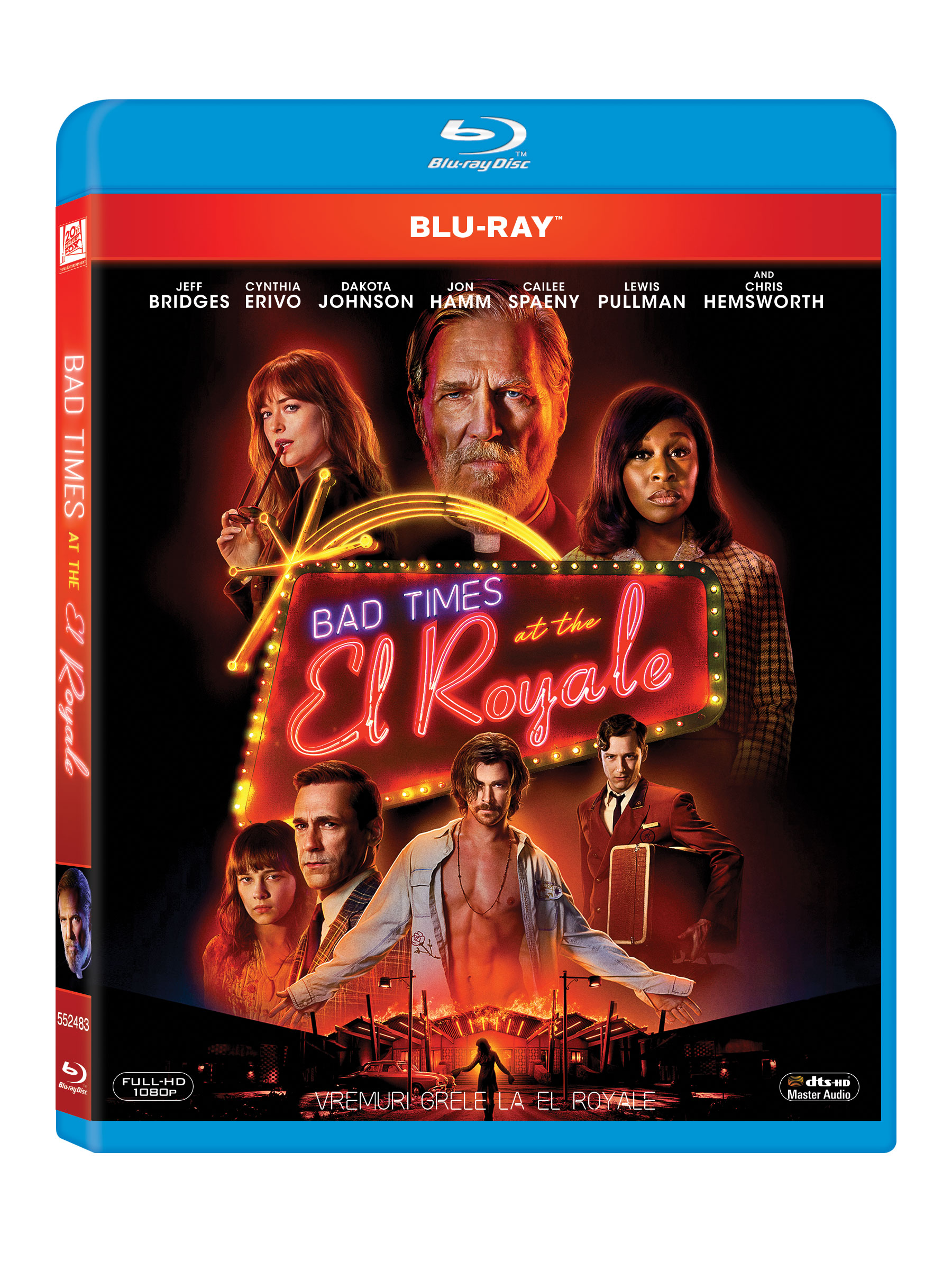 Vremuri grele la El Royale / Bad times at the El Royale (Blu-Ray Disc)