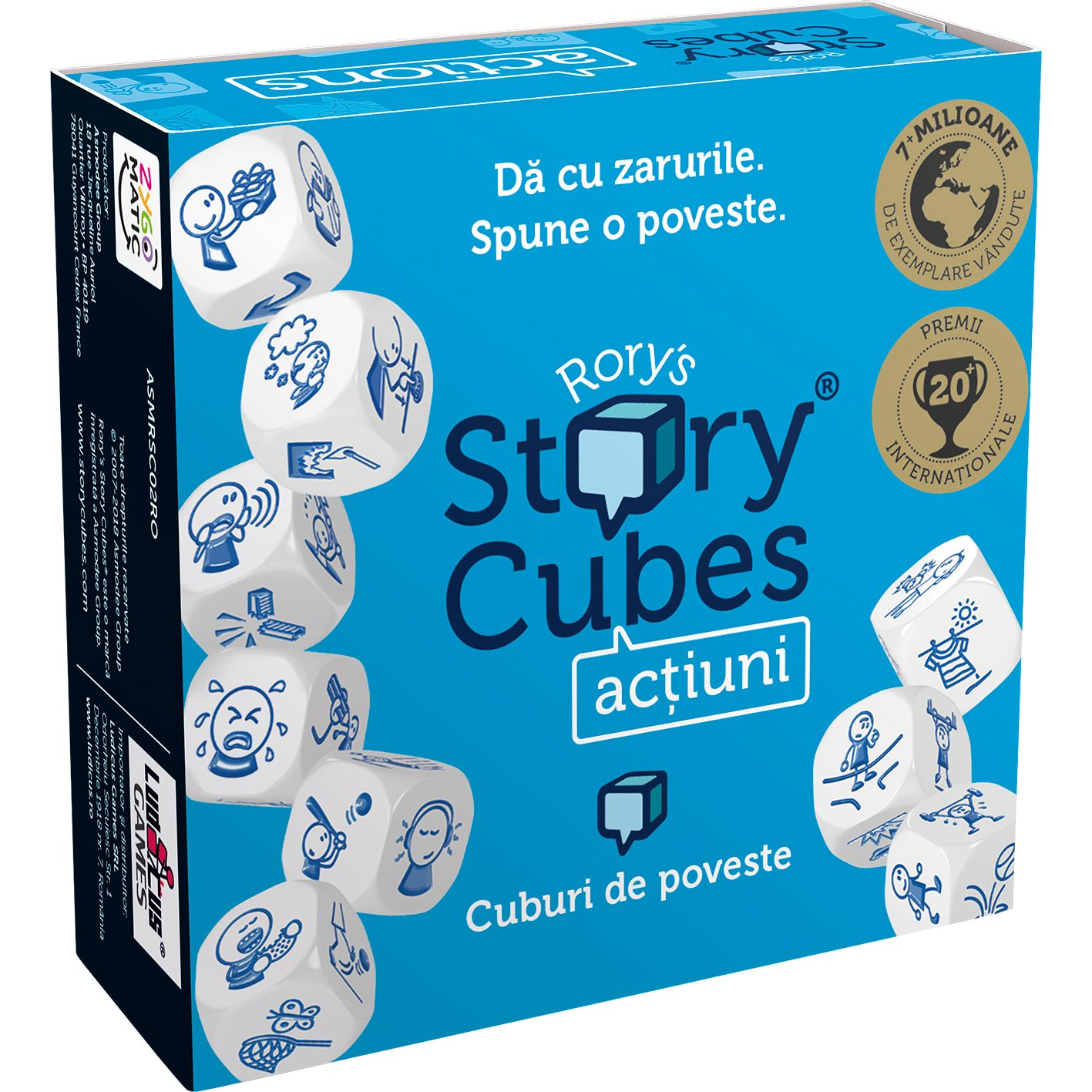 Rory's Story Cubes - Actiuni | Rory's Story Cubes