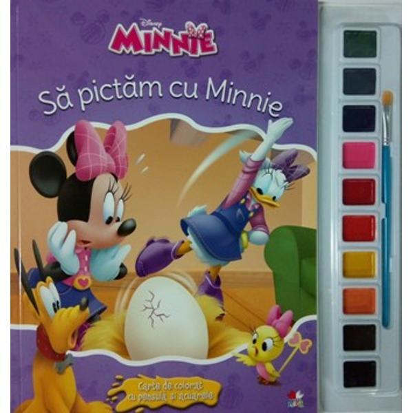Disney. Minnie. Sa pictam cu Minnie thumbnail