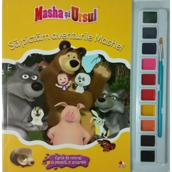Masha si ursul. Sa pictam aventurile Mashei thumbnail