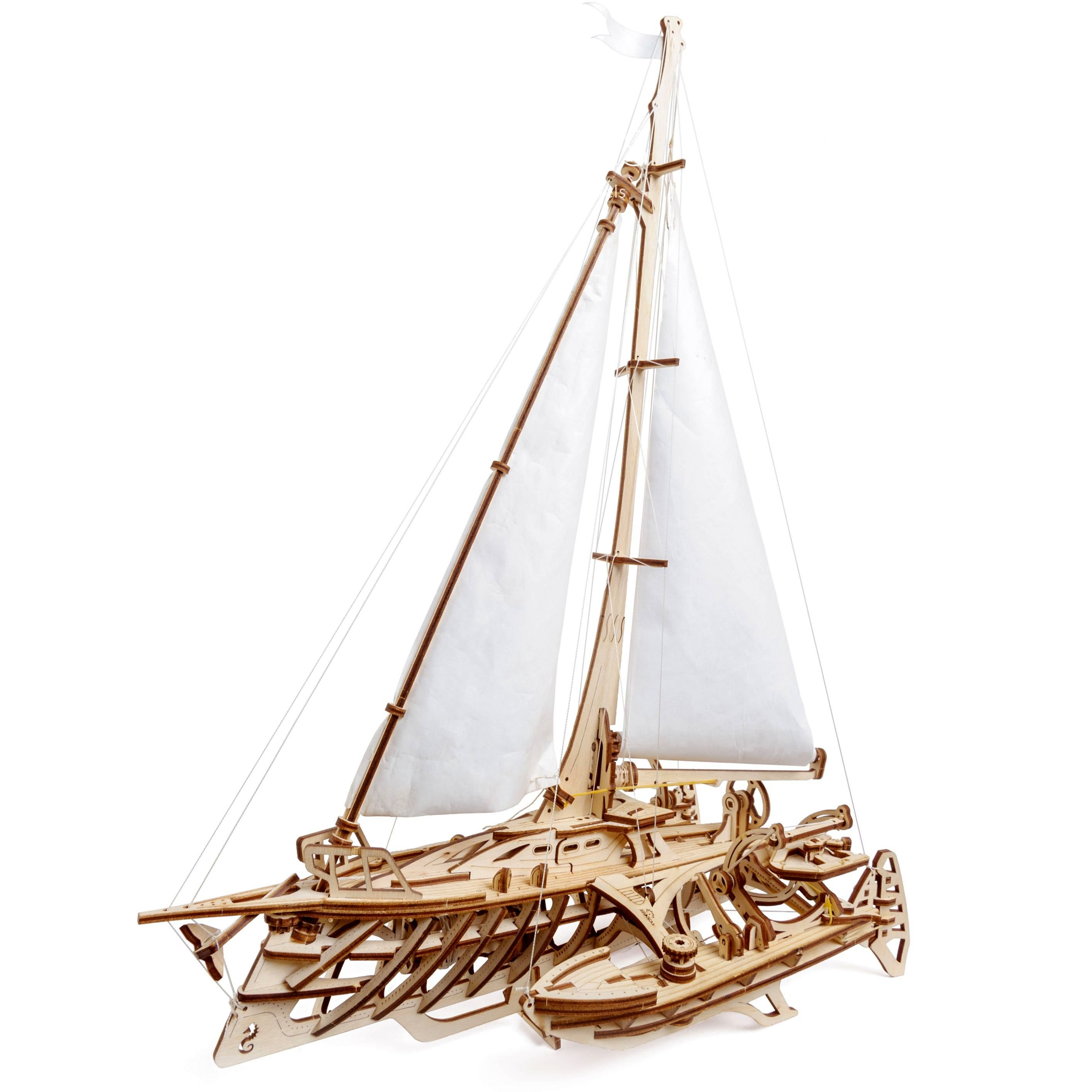 Puzzle 3D - Barca Trimaran | Ugears