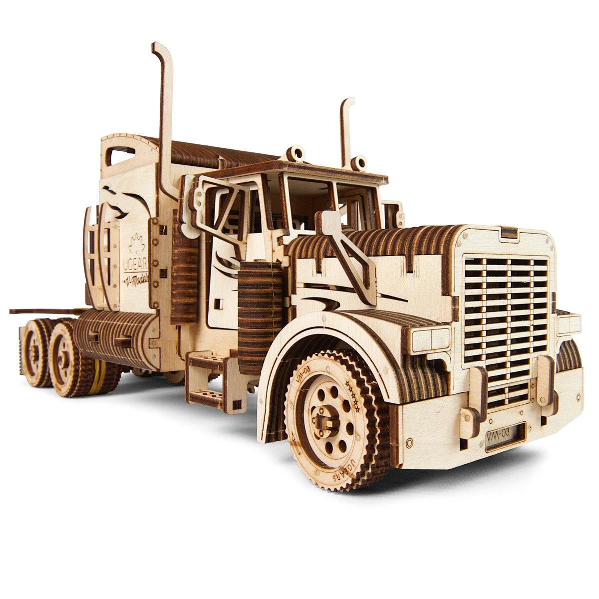 Puzzle 3D - Heavy Boy Truck VM-03 | Ugears