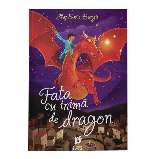 Fata cu inima de dragon   Stephanie Burgis