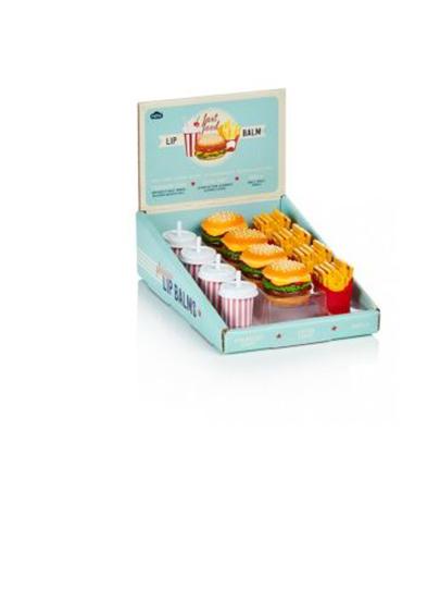 Balsam de buze - Fast Food - mai multe modele