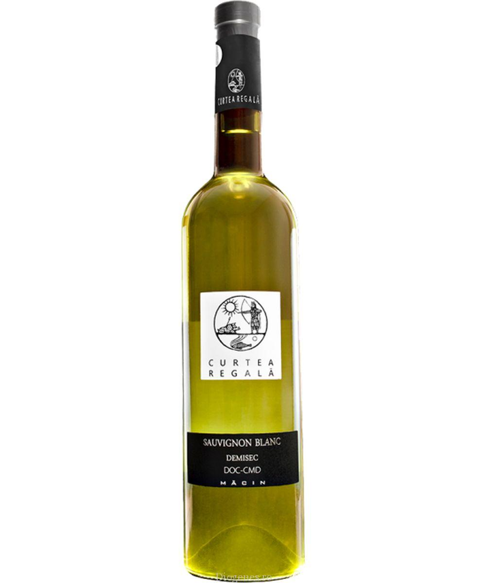 Vin alb - Curtea Regala, 2016, demisec Vinuri de Macin