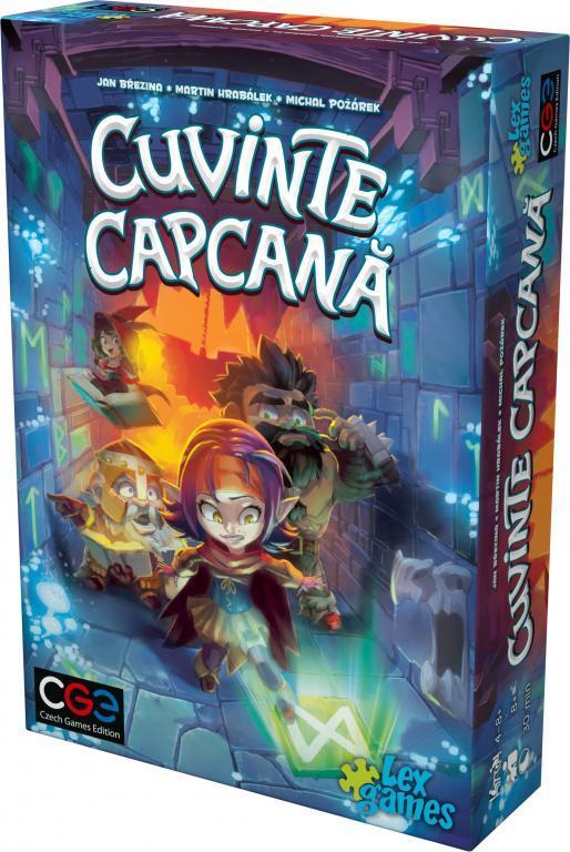 Cuvinte Capcana / Trapwords   Czech Games Edition