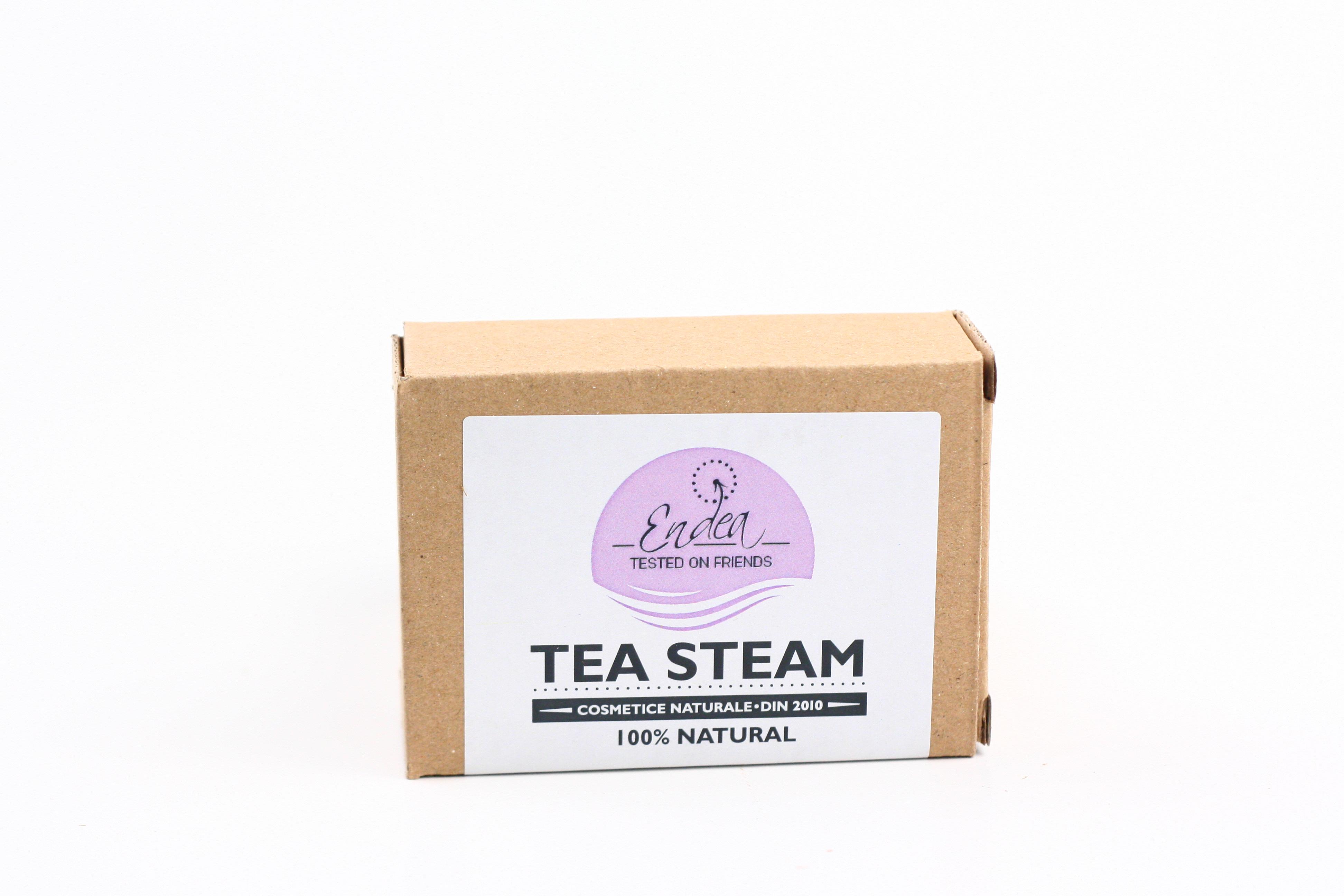 Sapun exfoliant cu ceai negru - Tea Steam thumbnail