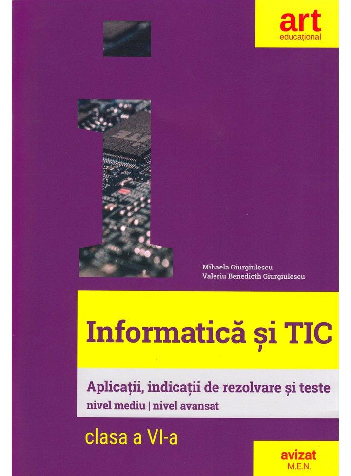 Informatica si TIC. Clasa a VI-a