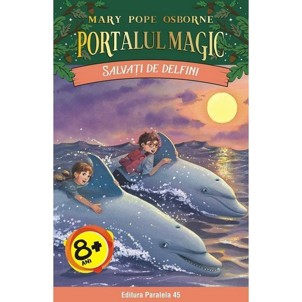 Imagine  Portalul Magic 9: Salvati De Delfini - Mary Pope Osborne