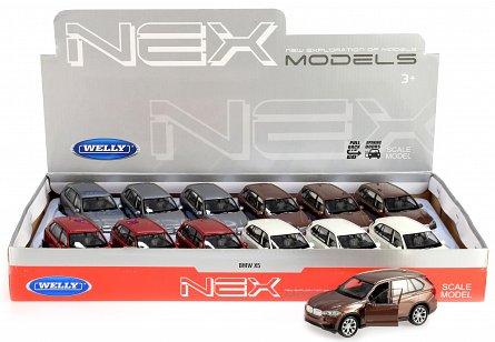Masinuta BMW X5 - mai multe culori | Welly