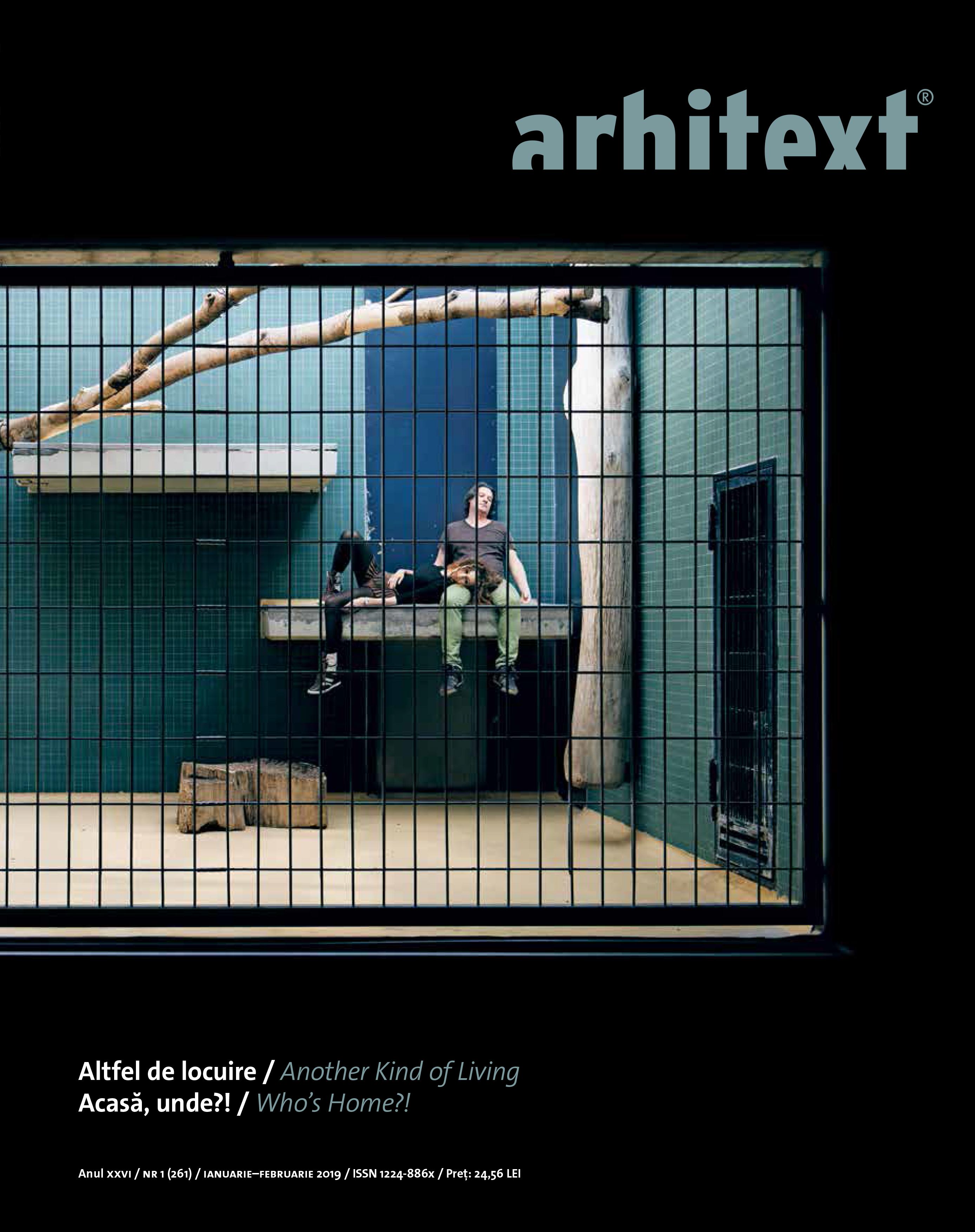 Revista Arhitext nr. 1/2019
