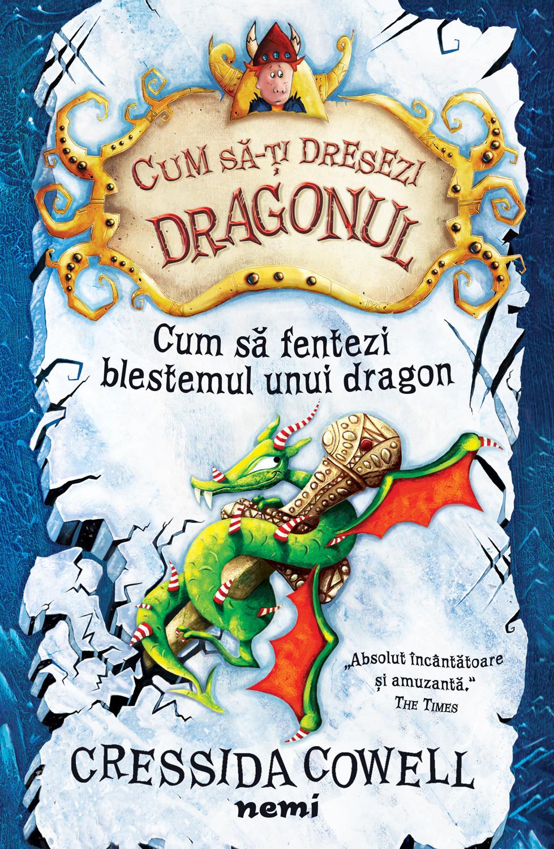 Imagine Cum Sa Fentezi Blestemul Unui Dragon - Cressida Cowell