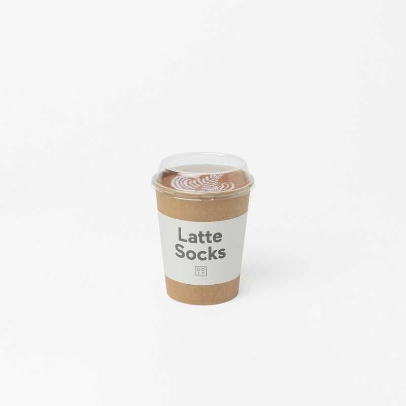 Sosete - Latte Socks Caffe thumbnail