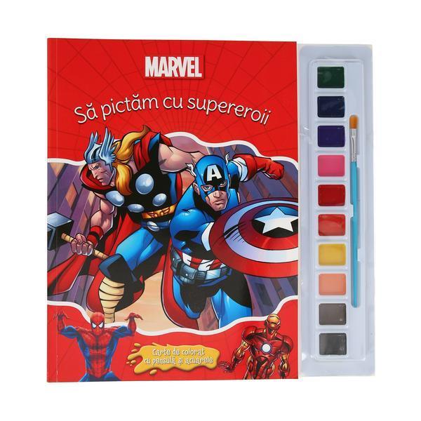 Disney. Sa pictam cu supereroii