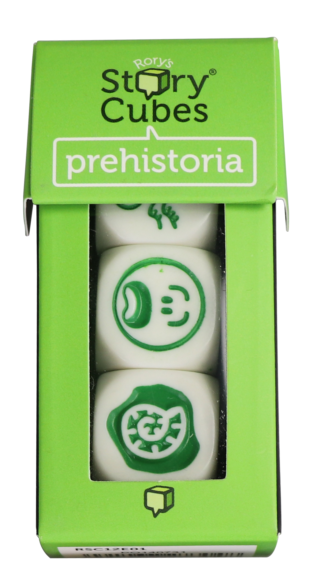 Story Cubes - Prehistoria | Rory's Story Cubes