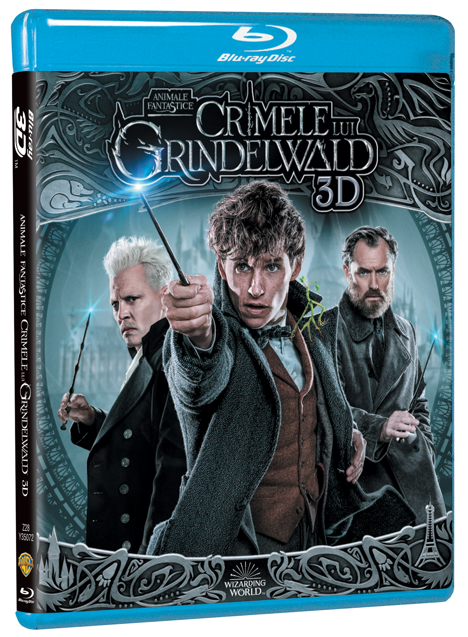 Animale Fantastice: Crimele lui Grindelwald / Fantastic Beasts: The Crimes of Grindelwald - 3D (Blu-Ray Disc)