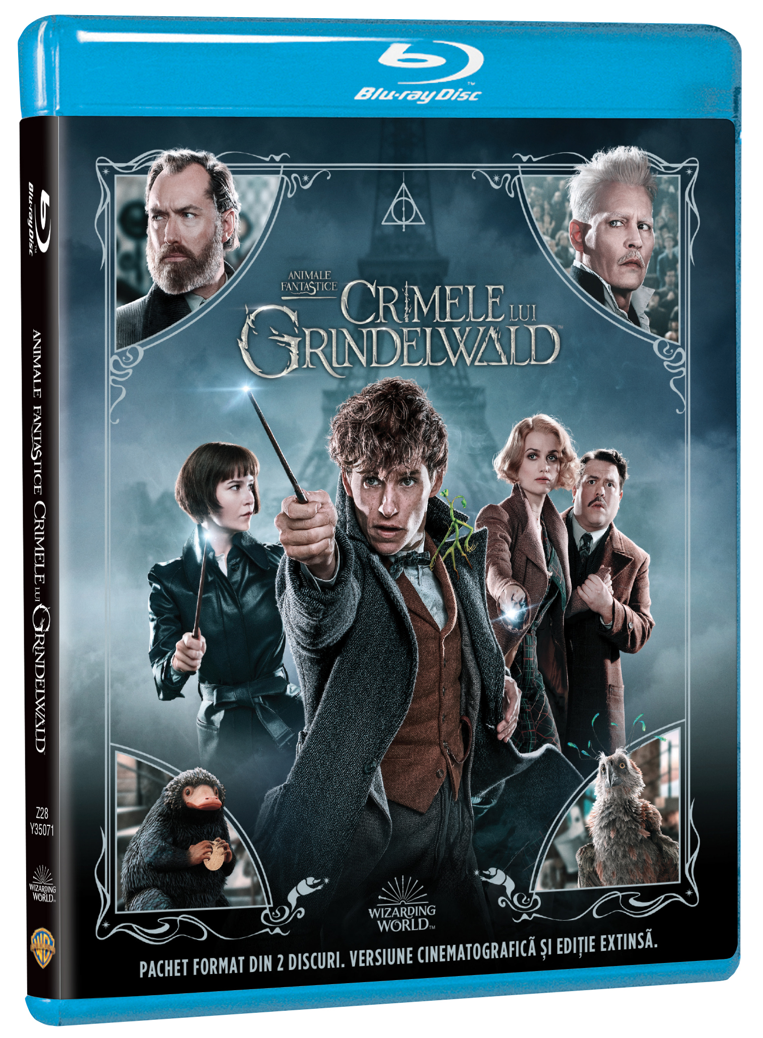 Animale Fantastice: Crimele lui Grindelwald / Fantastic Beasts: The Crimes of Grindelwald - Extended (Blu-Ray Disc)