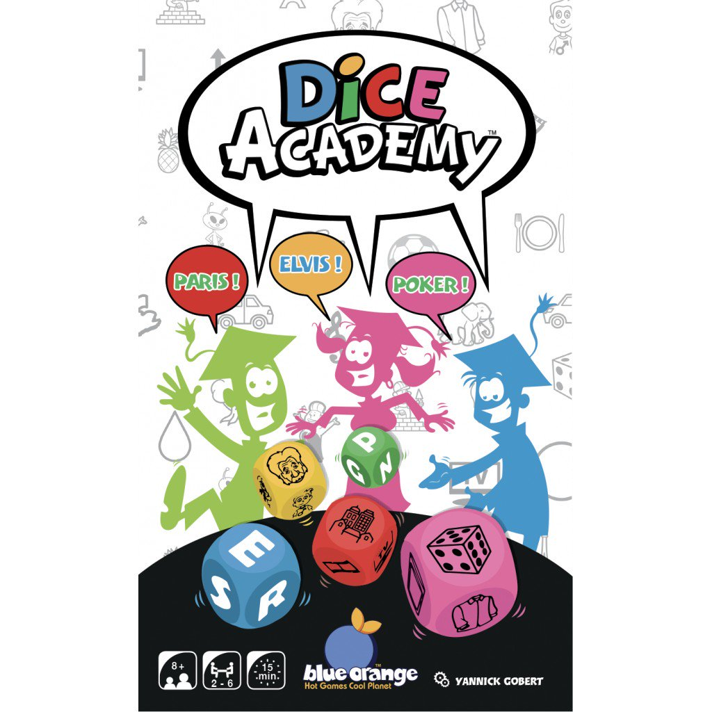 Joc de zaruri - Dice Academy | Blue Orange - 1