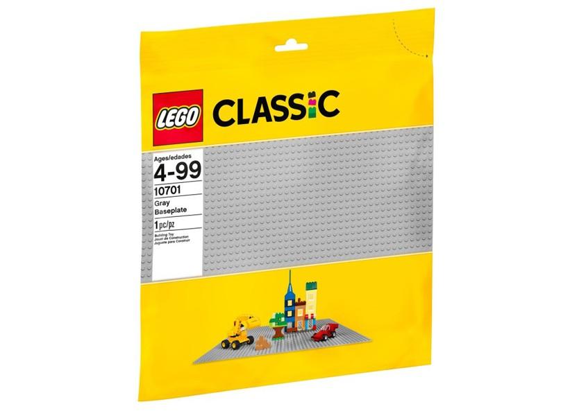 Placa de baza gri LEGO (10701) | LEGO