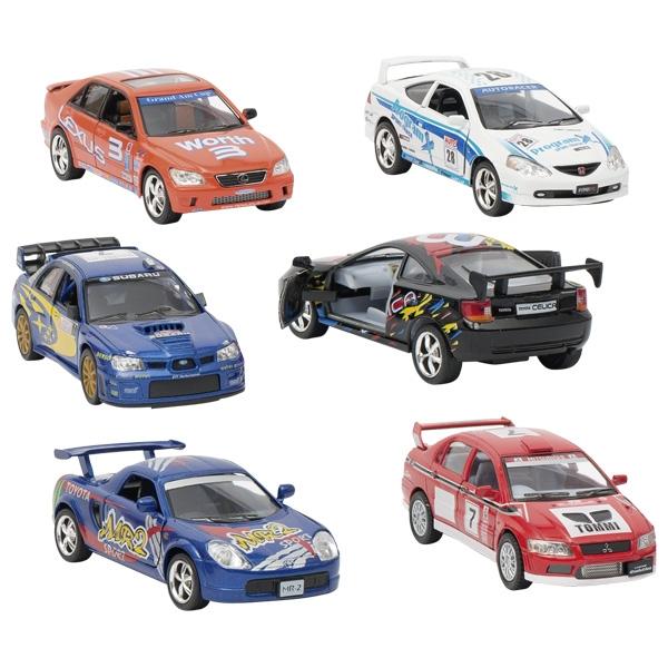 Jucarie - Masinuta Street Racers - mai multe culori | Goki