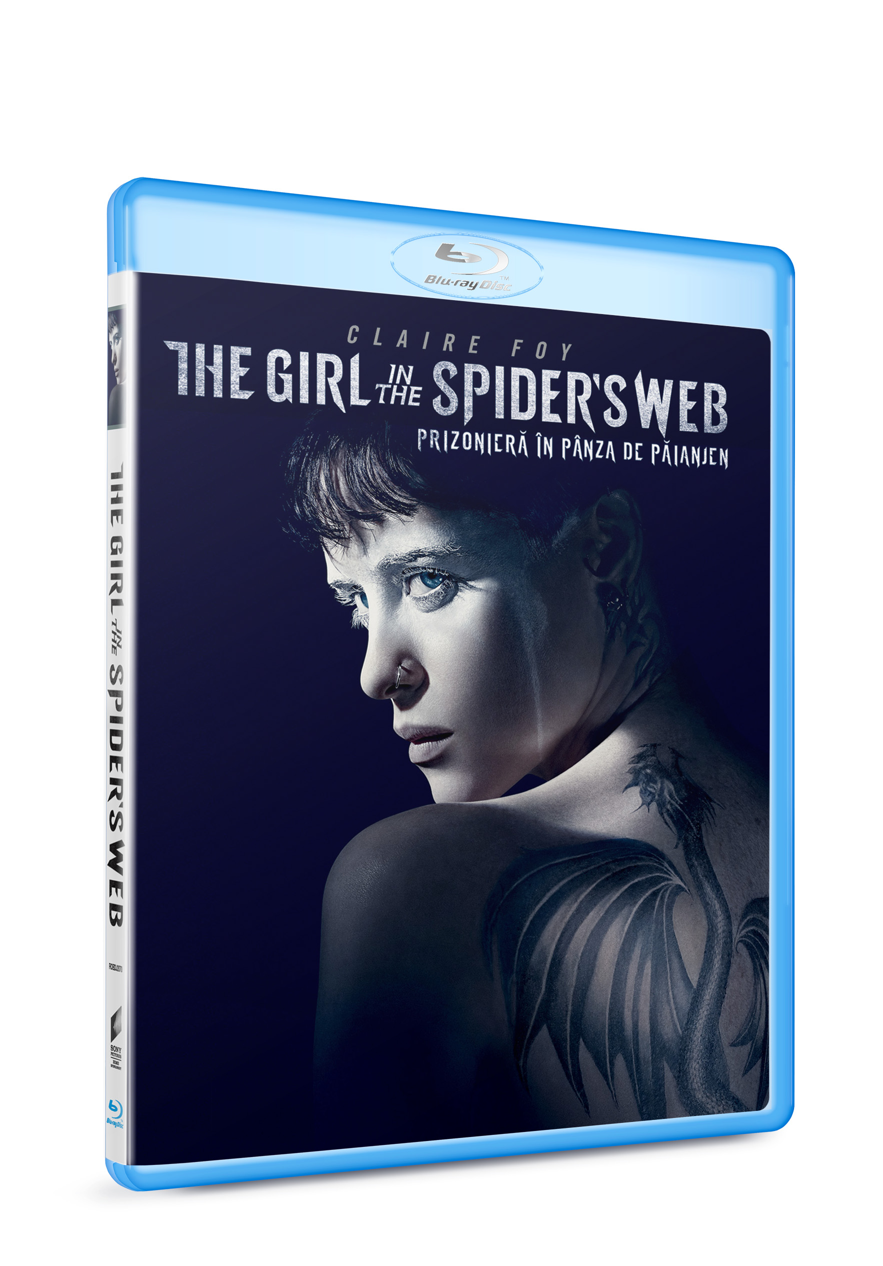 Prizoniera in panza de paianjen / The Girl in the Spider's Web (Blu-ray Disc) thumbnail
