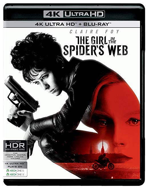 Prizoniera in panza de paianjen / The Girl in the Spider's Web (4K Ultra HD + Blu-ray Disc) thumbnail