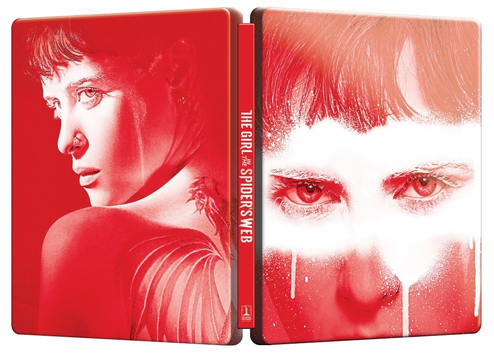 Prizoniera in panza de paianjen / The Girl in the Spider's Web (Steelbook, editie limitata. 4K Ultra HD + Blu-ray Disc) thumbnail