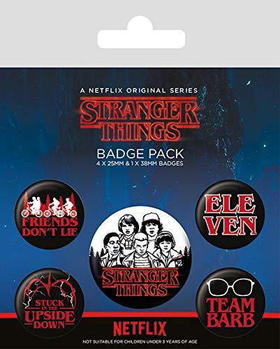 Set insigne - Stranger Things Log thumbnail