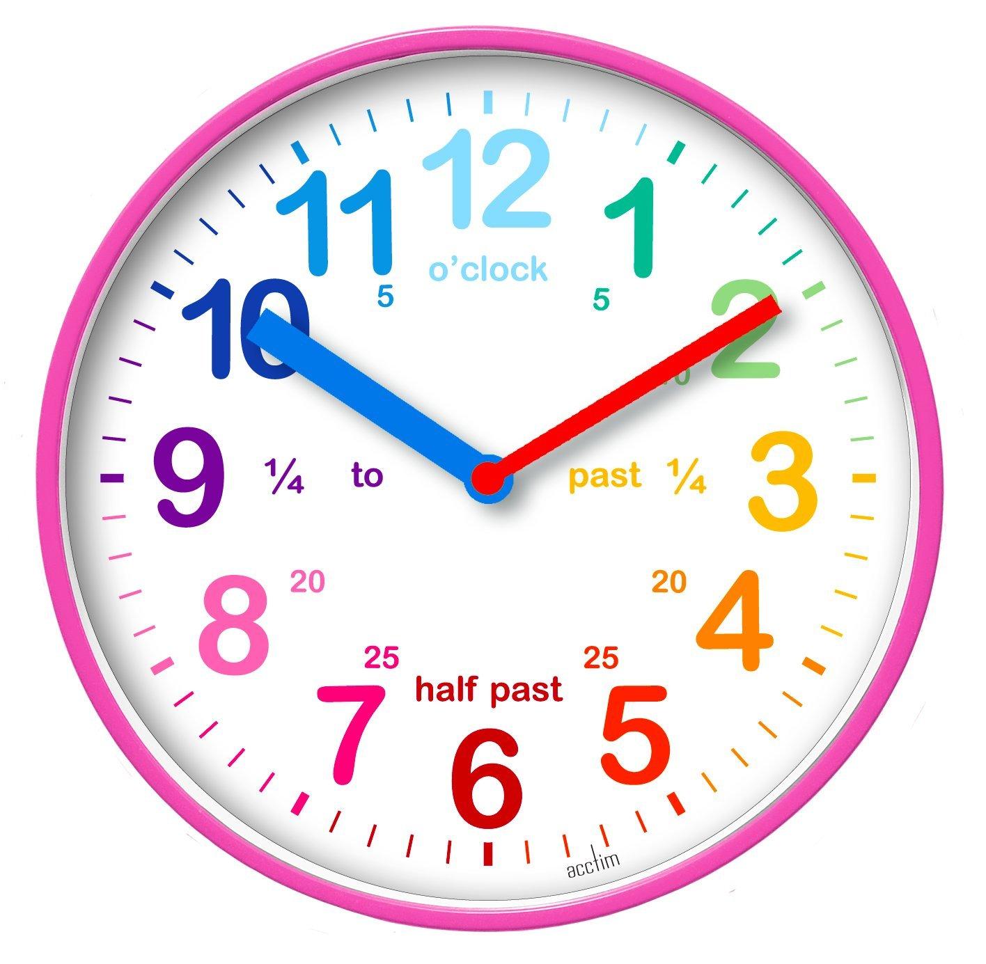 Ceas de perete - Wickford Kids - Pink thumbnail