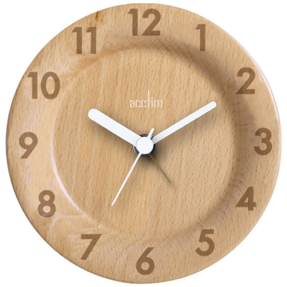 Ceas de perete - Epping - Natural Wood thumbnail