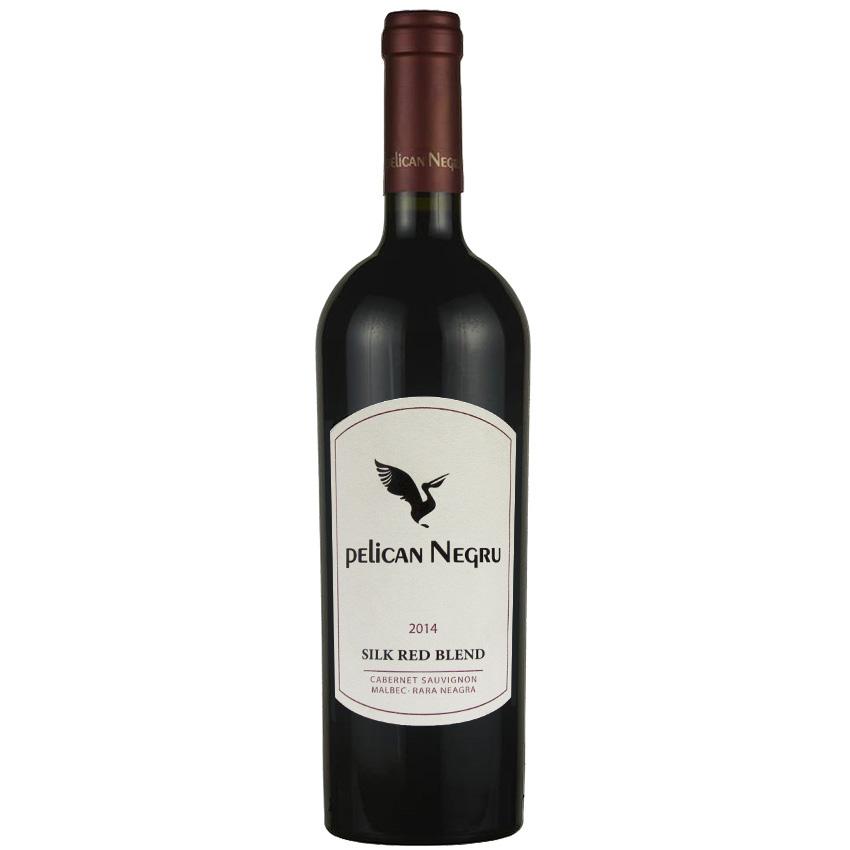 Vin rosu - Pelican Negru - Silk Red Blend, 2014, sec Pelican Negru