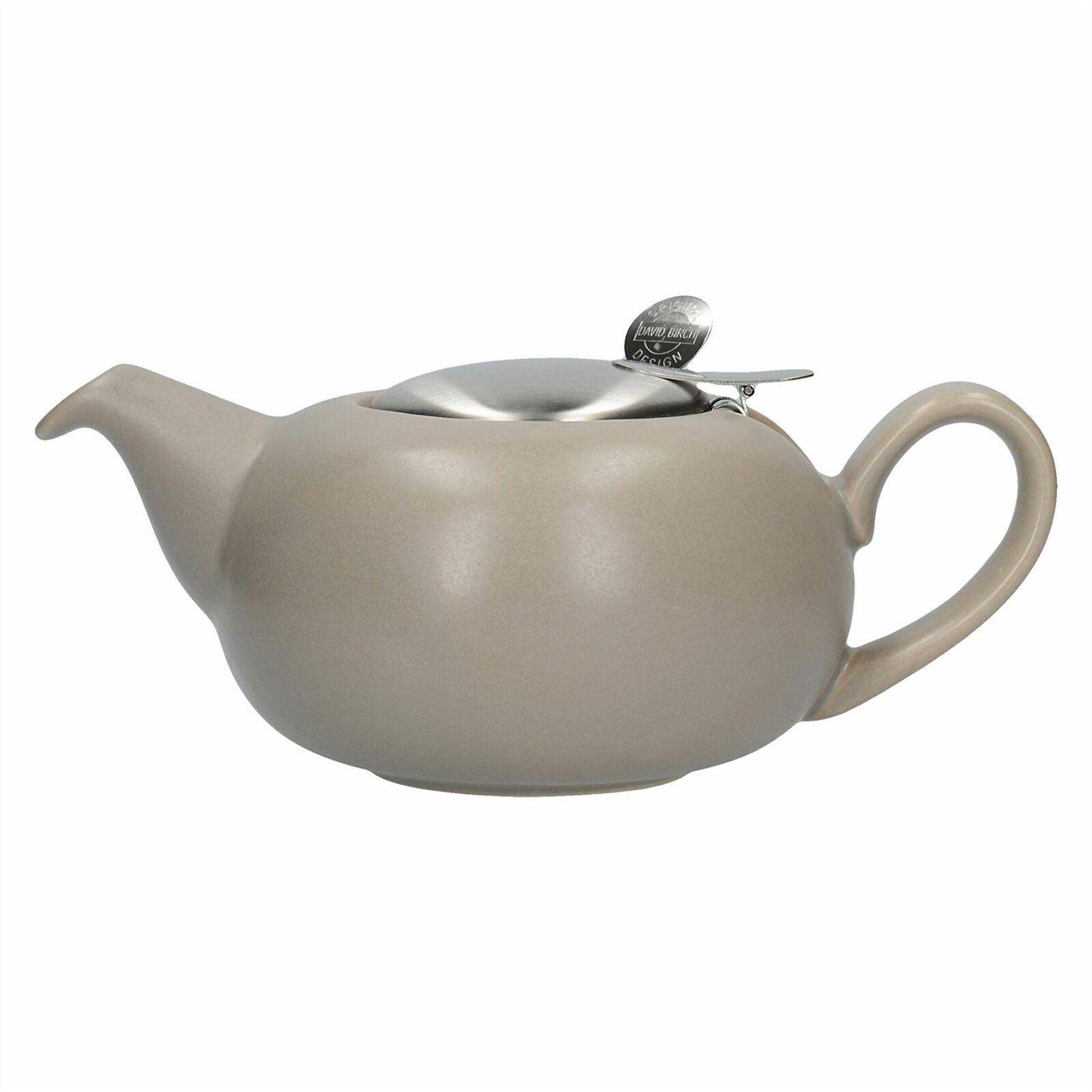 Ceainic-London Pottery Pebble- Filter 2 Cup Teapot Matt Putty